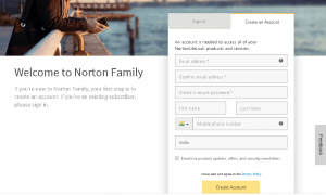 Norton family protection plan for 6 months absolutely free